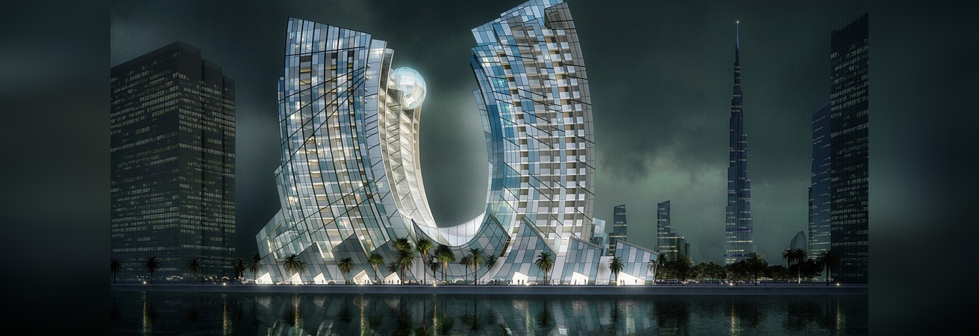 "J One, ""The Jewel of Dubai"". Courtesy of RKM Durar"