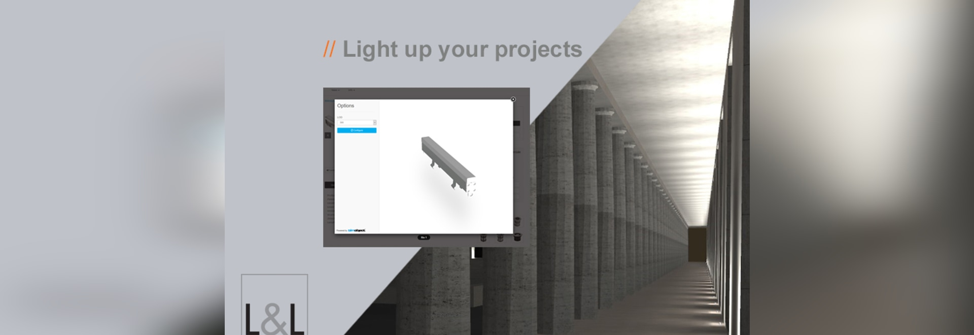 L&L Luce&Light lighting fixtures available in BIM format