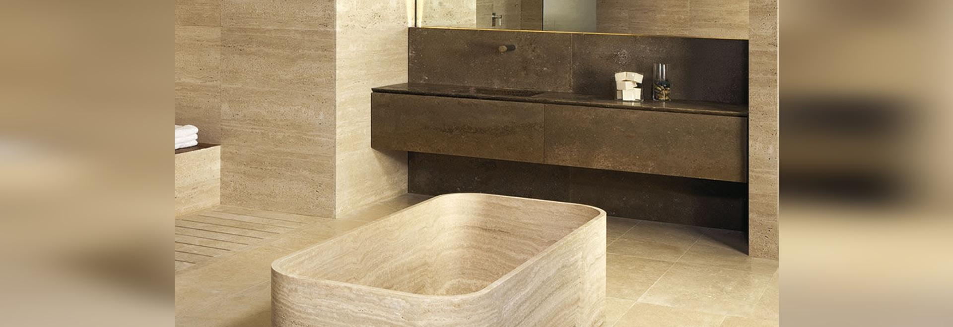 LE CAVE bathtub by Marco W. Fagioli ed Emanuel Gargano