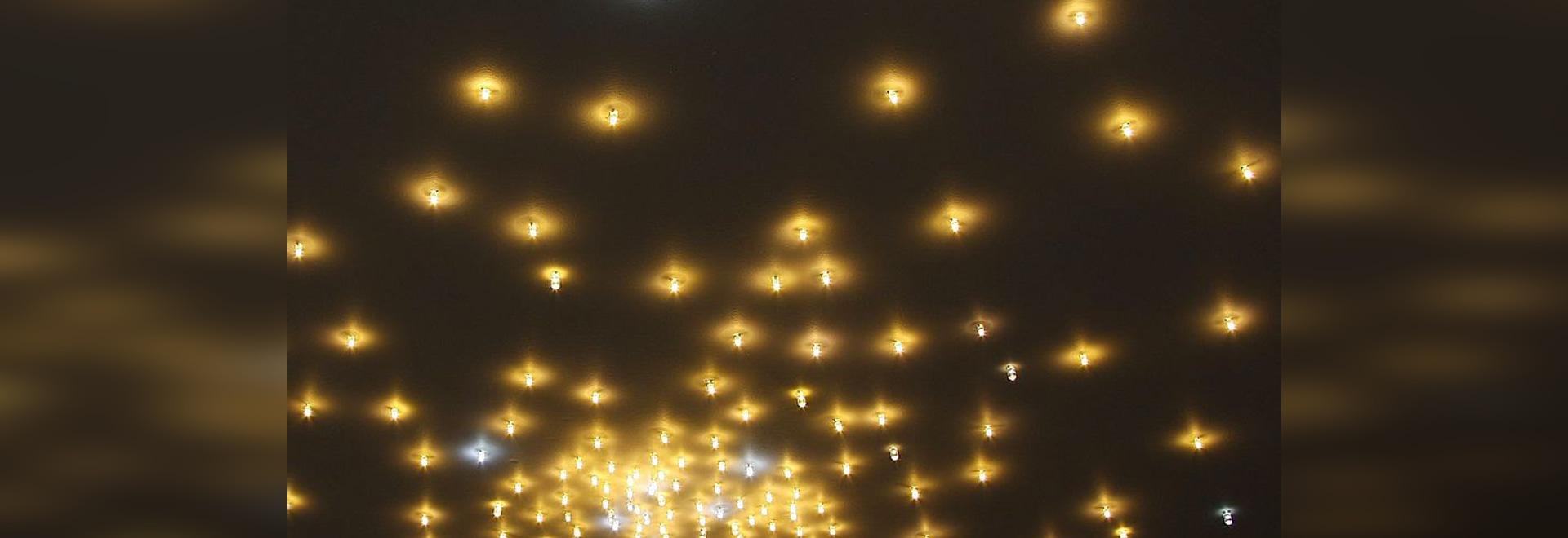 LED Starlit ceiling