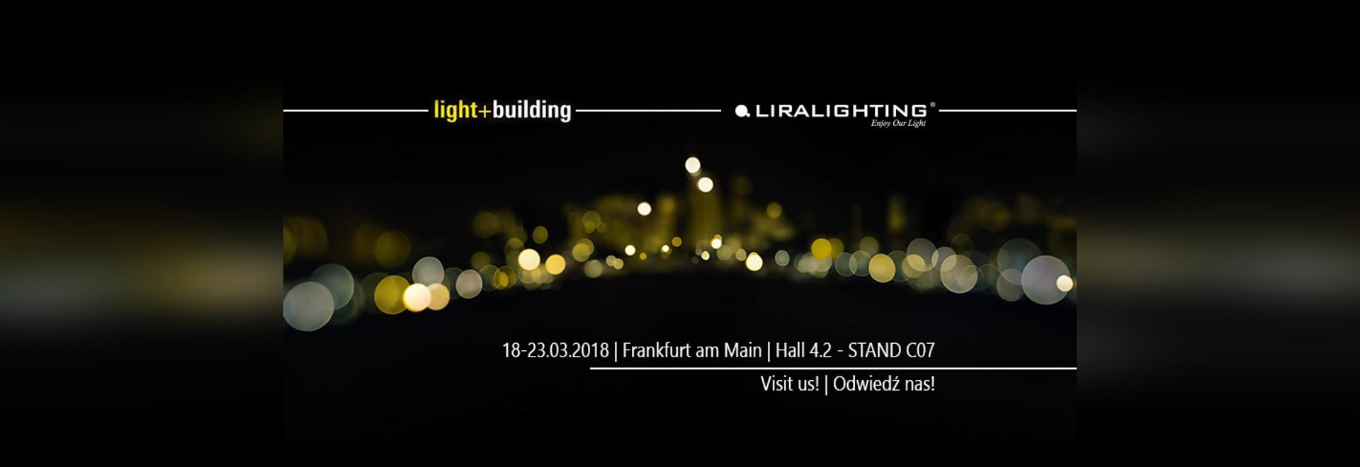 light and building frankfurt 2018
