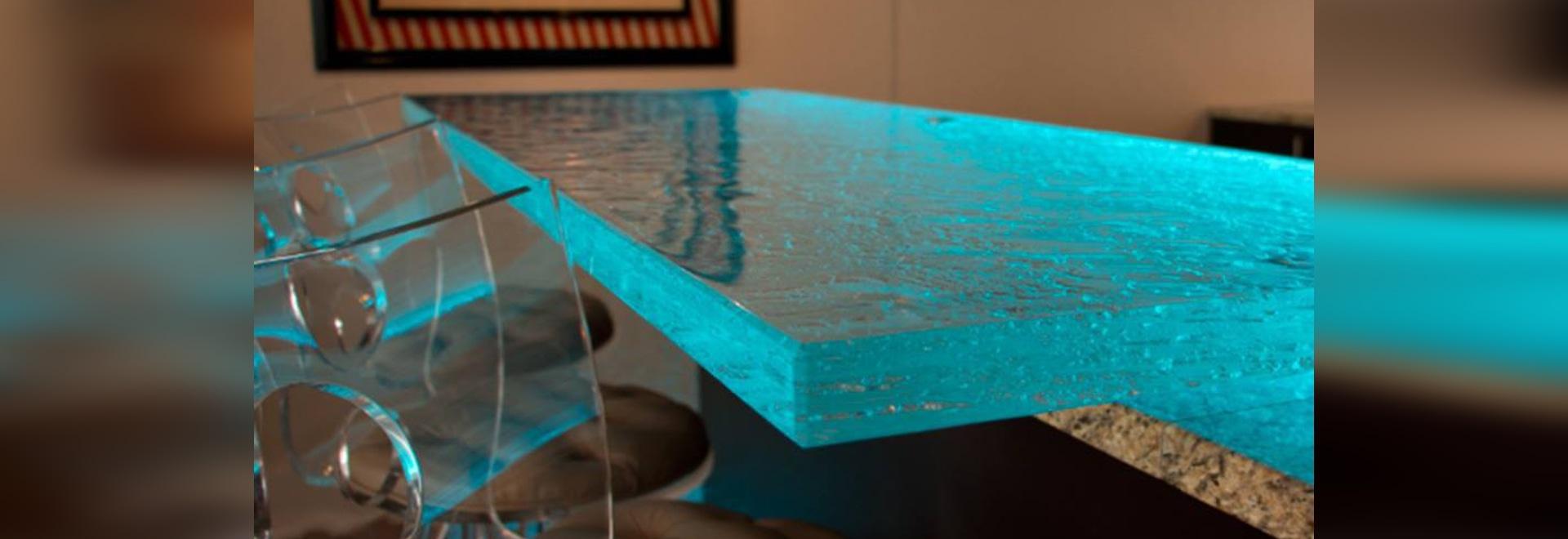 a lighting countertop!