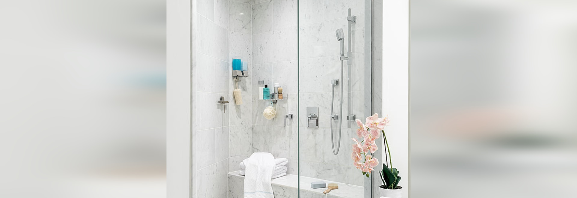 LINEA Luxury Shower Organizers - Better Living Products