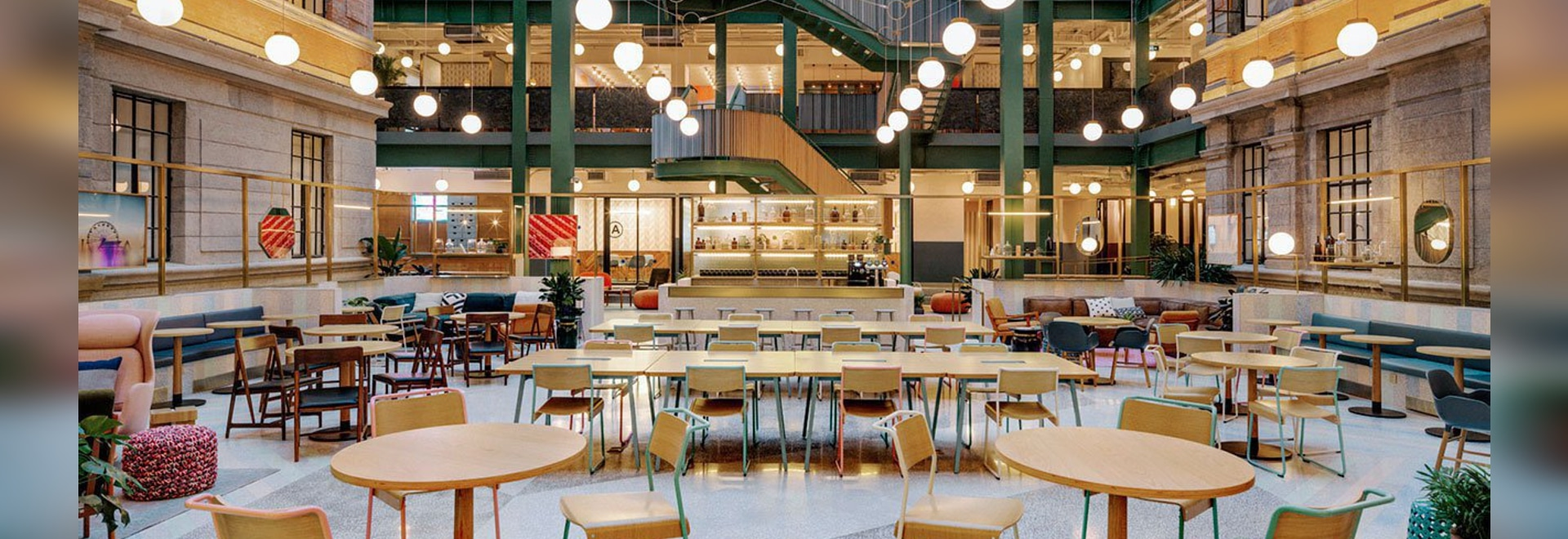 Linehouse Brings Color and Fun to the WeWork Offices in Shanghai, China