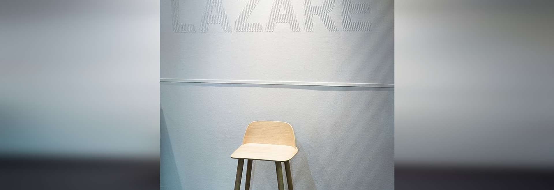 A made to measure logo for the LAZARE restaurant (Paris, France)