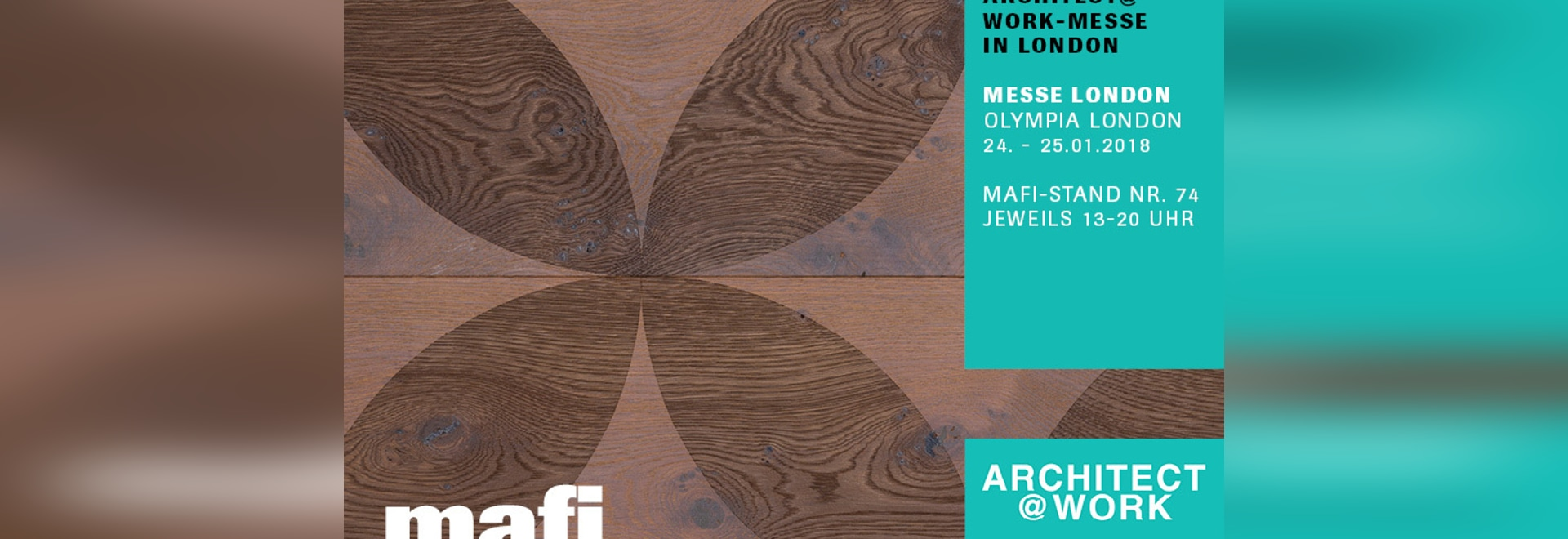 mafi at the exhibition Architect@Work in London