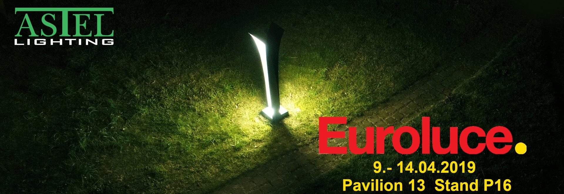 Meet Astel Lighting at EUROLUCE Fair in Milan!