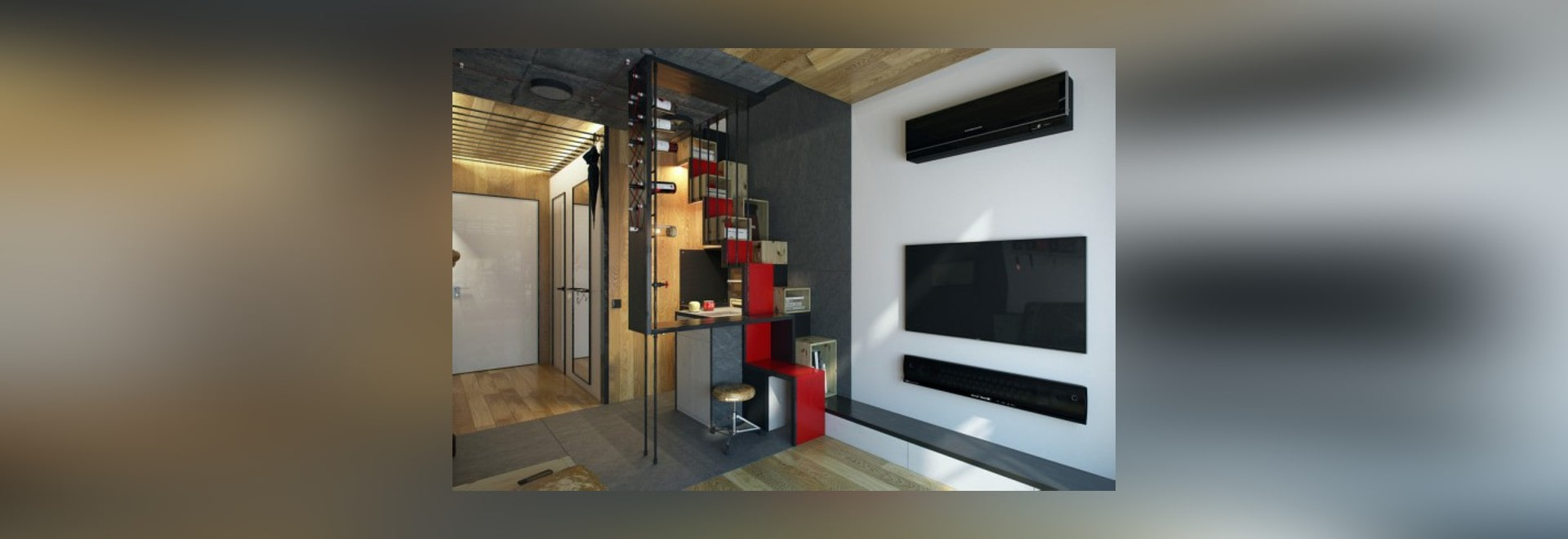 micro home design a super tiny apartment with just 18 square
