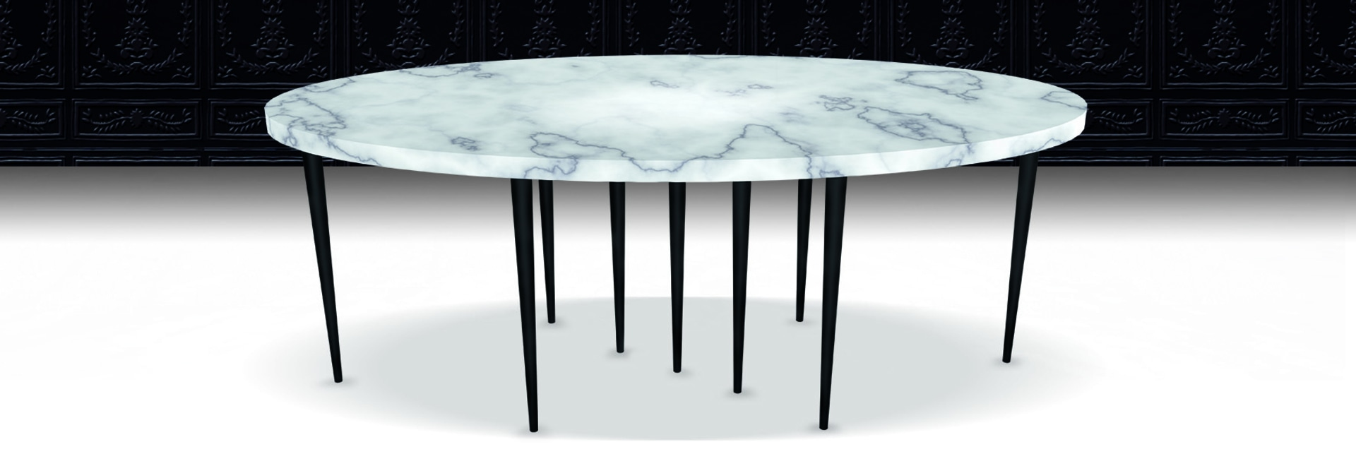Mille Pied Table by Sylvie Maréchal