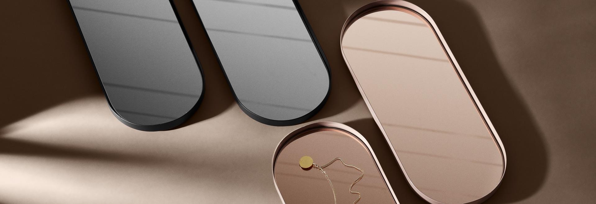 Mirror trays