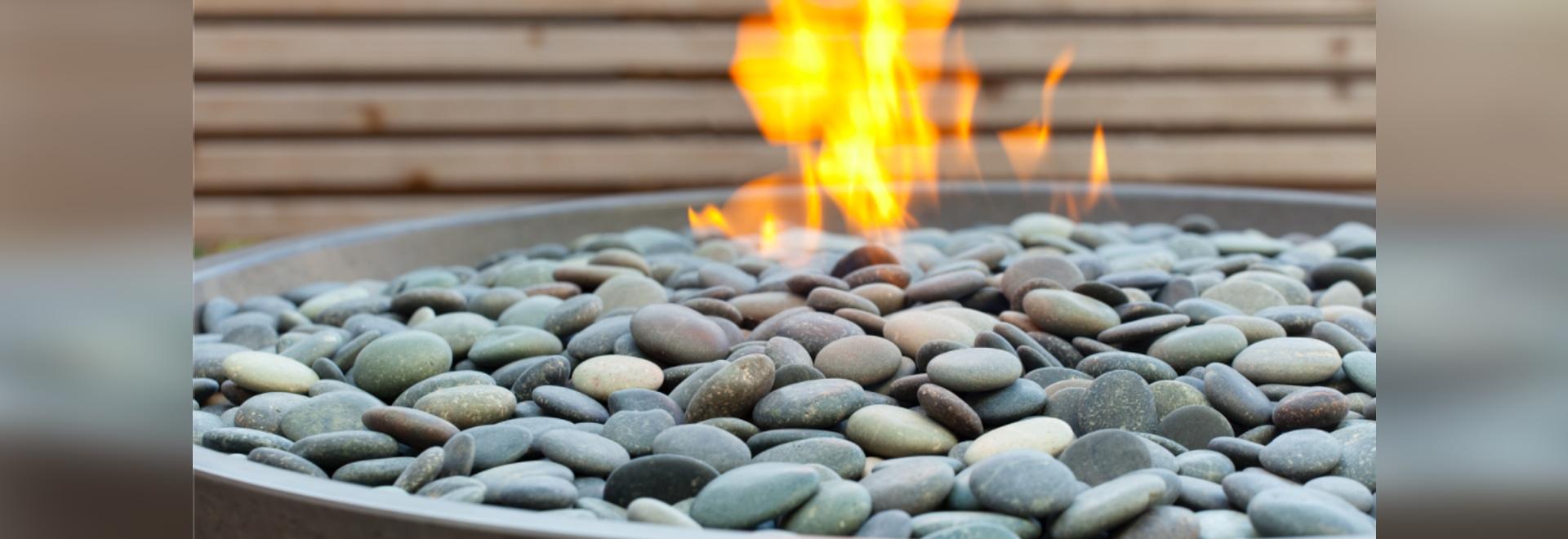 Miso concrete fire bowl - detail