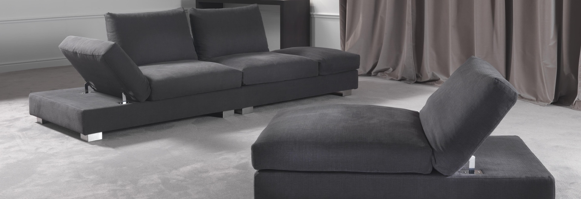 Modern sofa Lugano