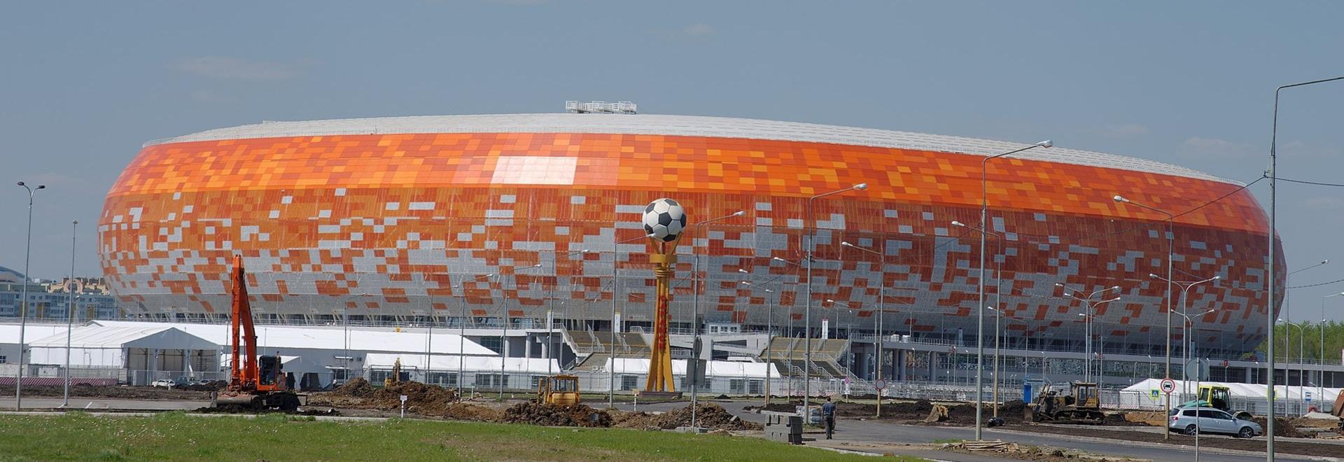 Mordovia Arena Saransk, Russia