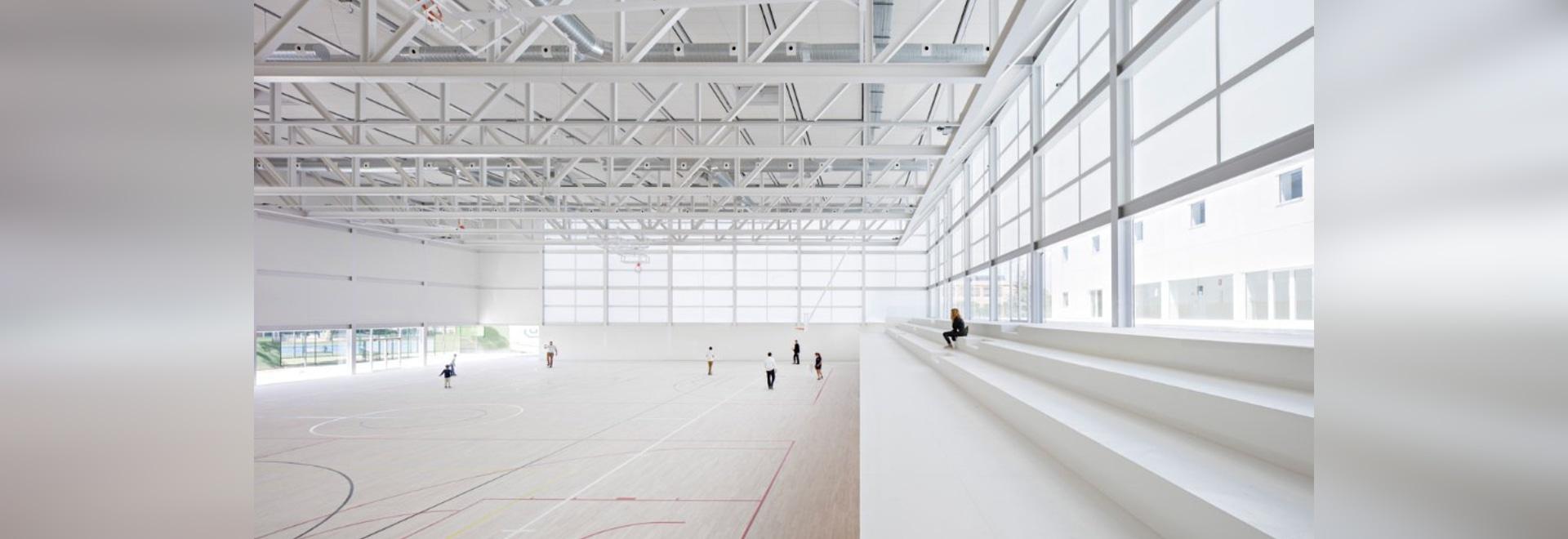 Multi-sport pavilion