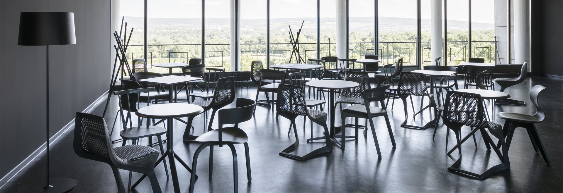 MYTO chairs and MIURA tables