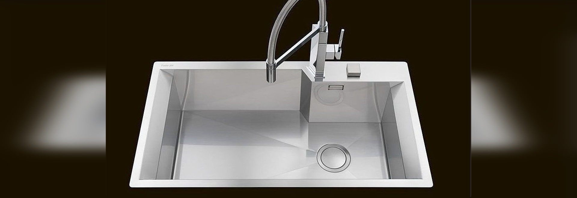 NEW: 1-bowl kitchen sink by Foster - Foster