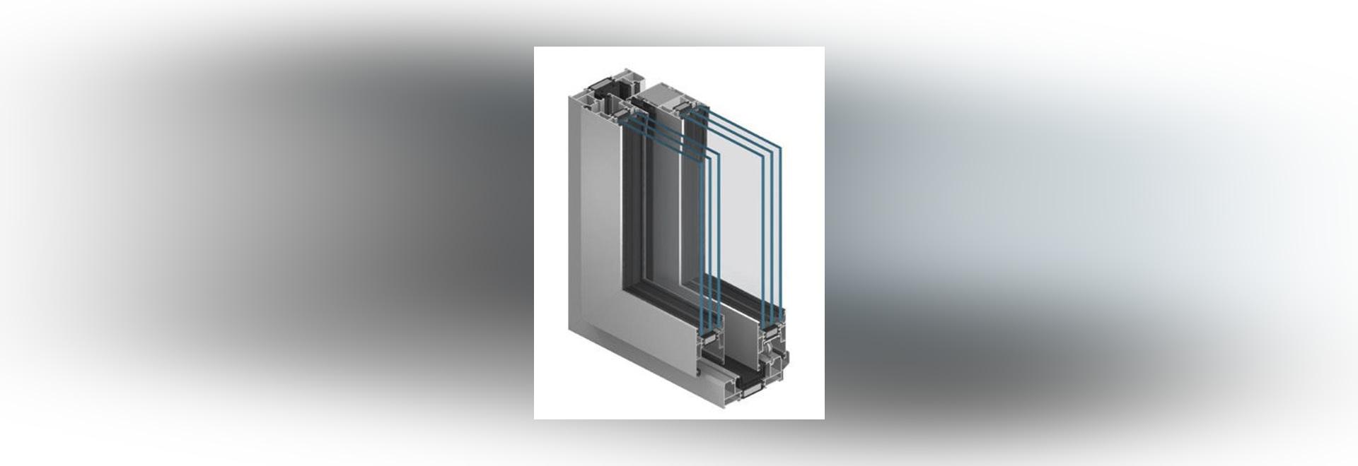NEW: aluminum door profile by Aluprof S.A