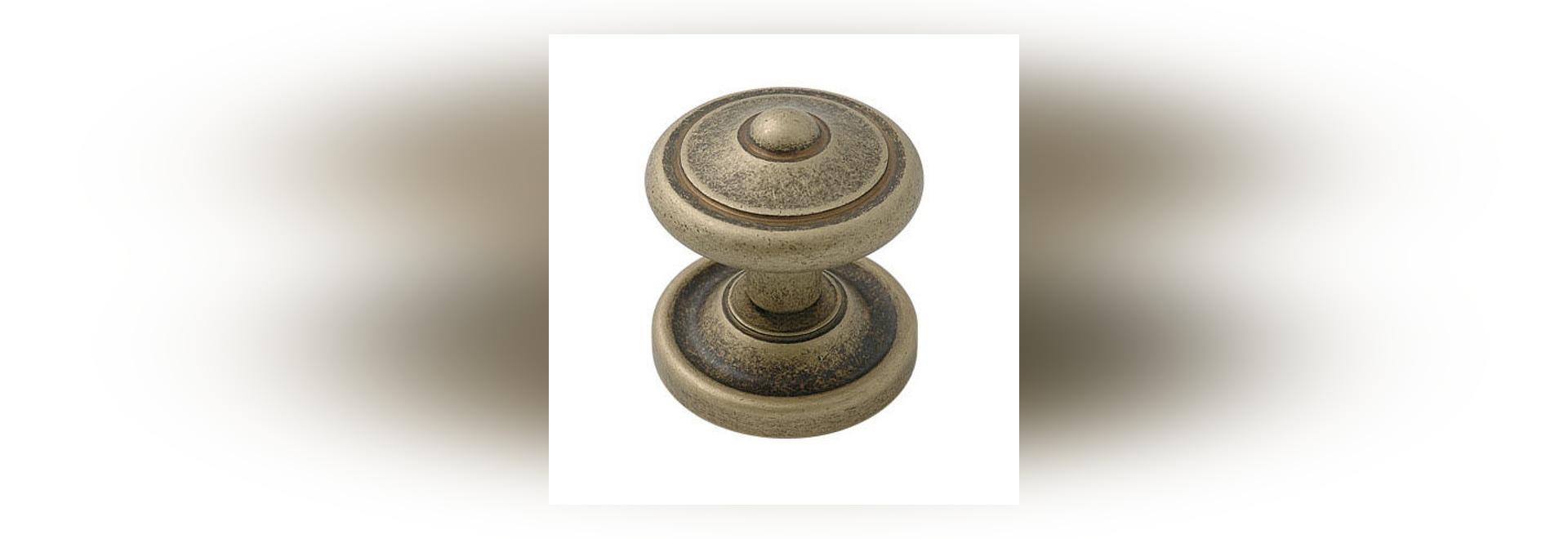 NEW: brass door knob by ZERMAT