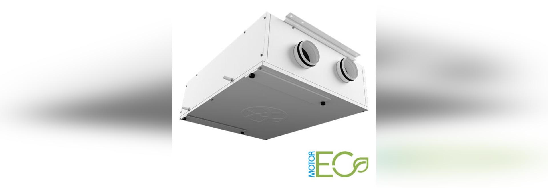 NEW: centralized controlled mechanical ventilation by Blauberg Ventilatoren GmbH