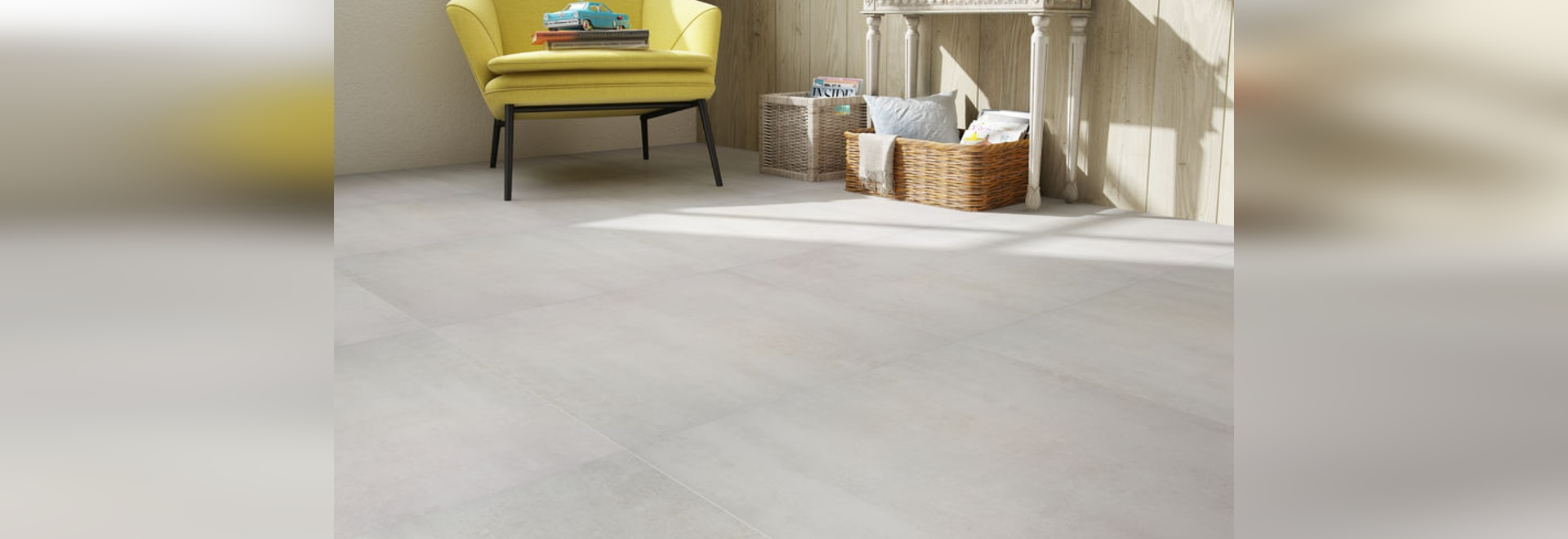 New Commercial Laminated Floor Tile By Faus