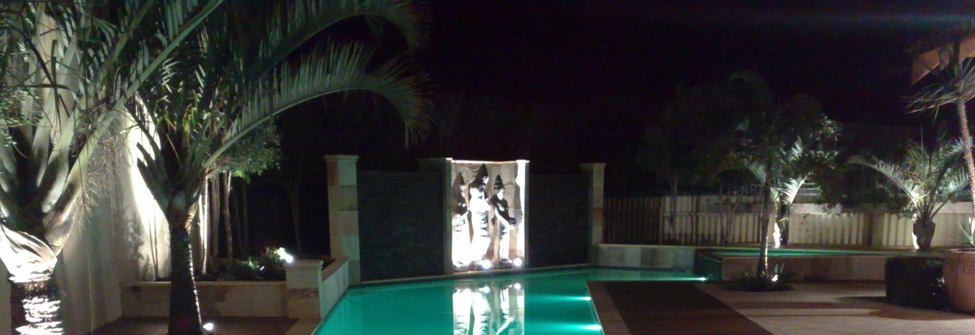New Concrete Pool Niche