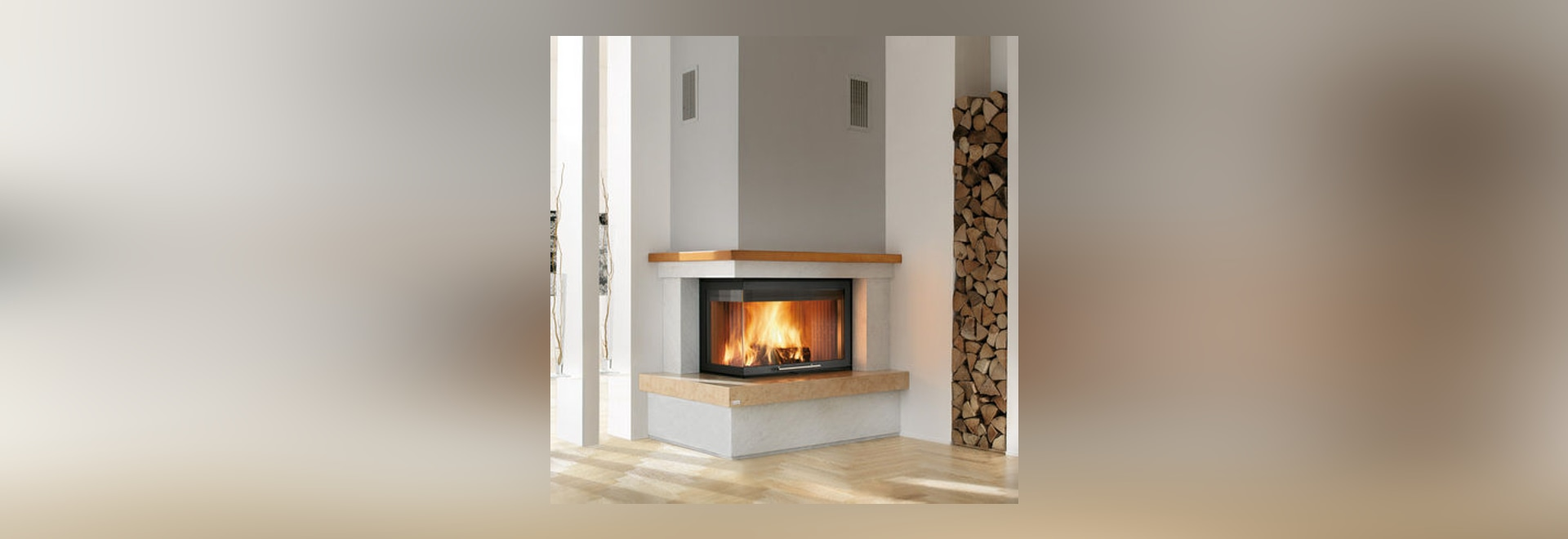 new contemporary fireplace mantel by caminetti montegrappa