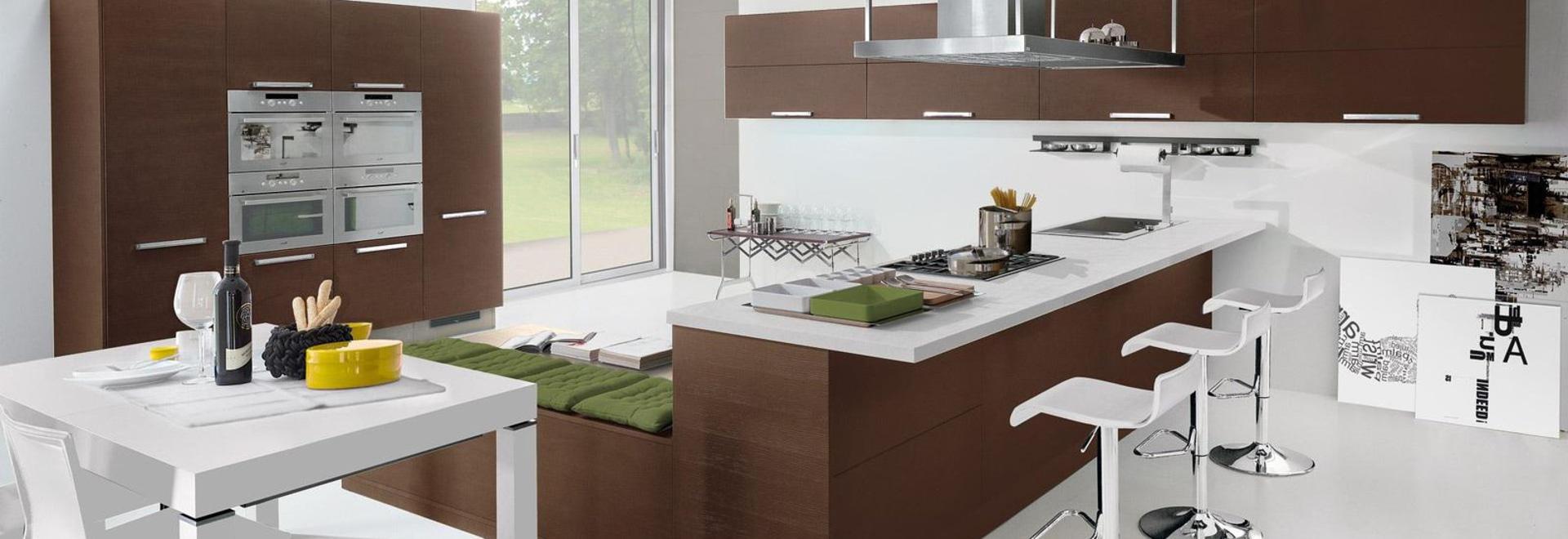 NEW: contemporary kitchen by CUCINE LUBE - CUCINE LUBE