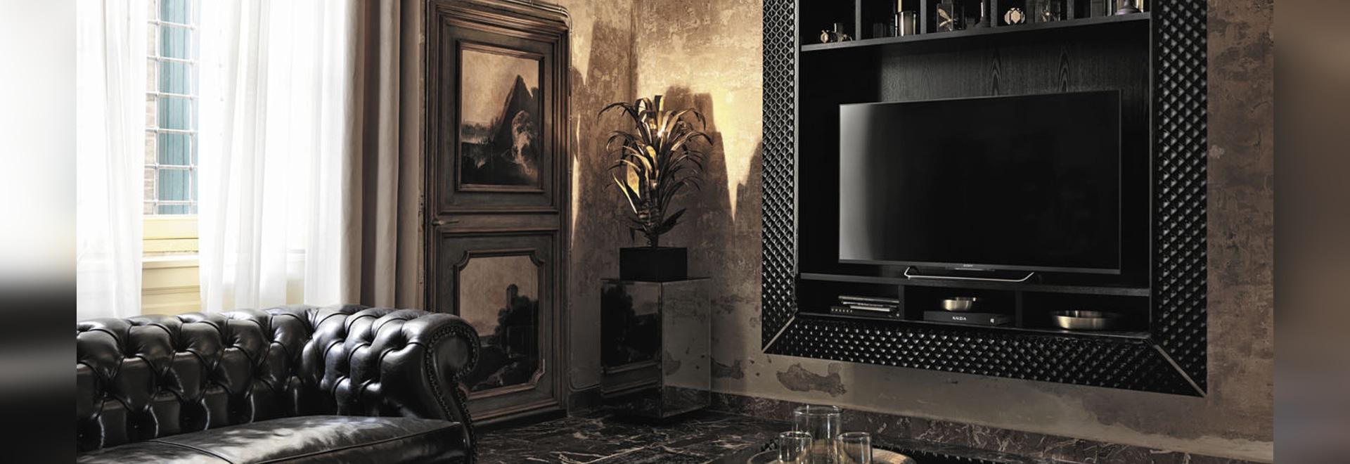 new contemporary tv wall unit by fiam italia fiam italia