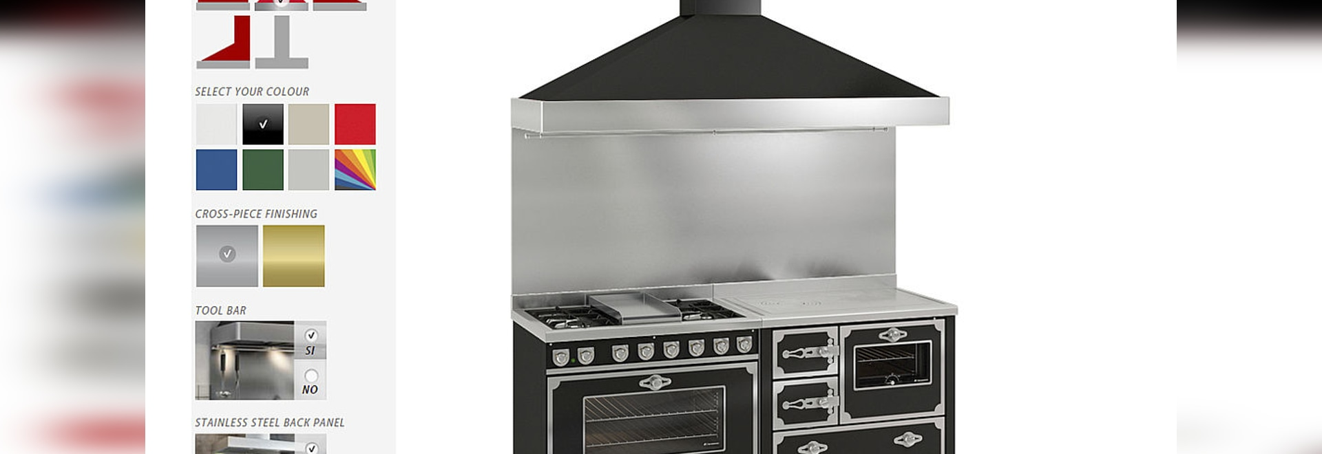 New Cooker Configurator