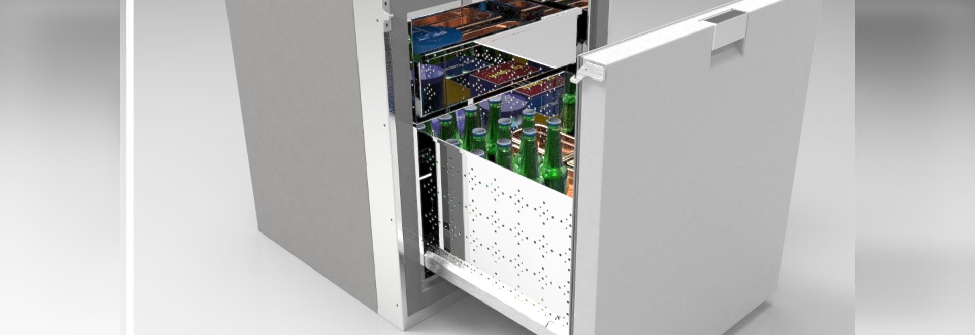 New drawer freezer: CC1