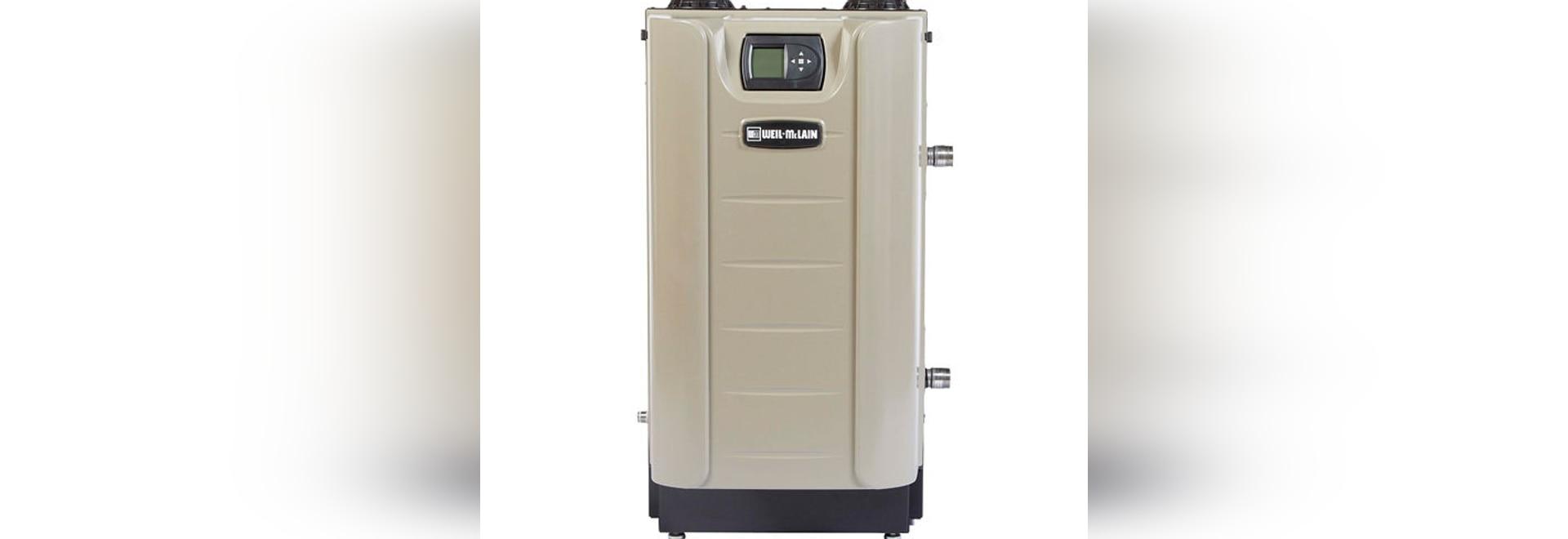 NEW: gas boiler by Weil-McLain - Weil-McLain