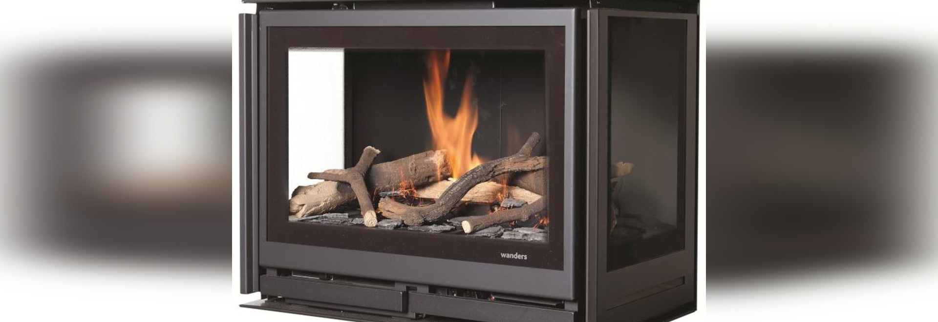 new gas fireplace insert by wanders fires u0026 stoves wanders