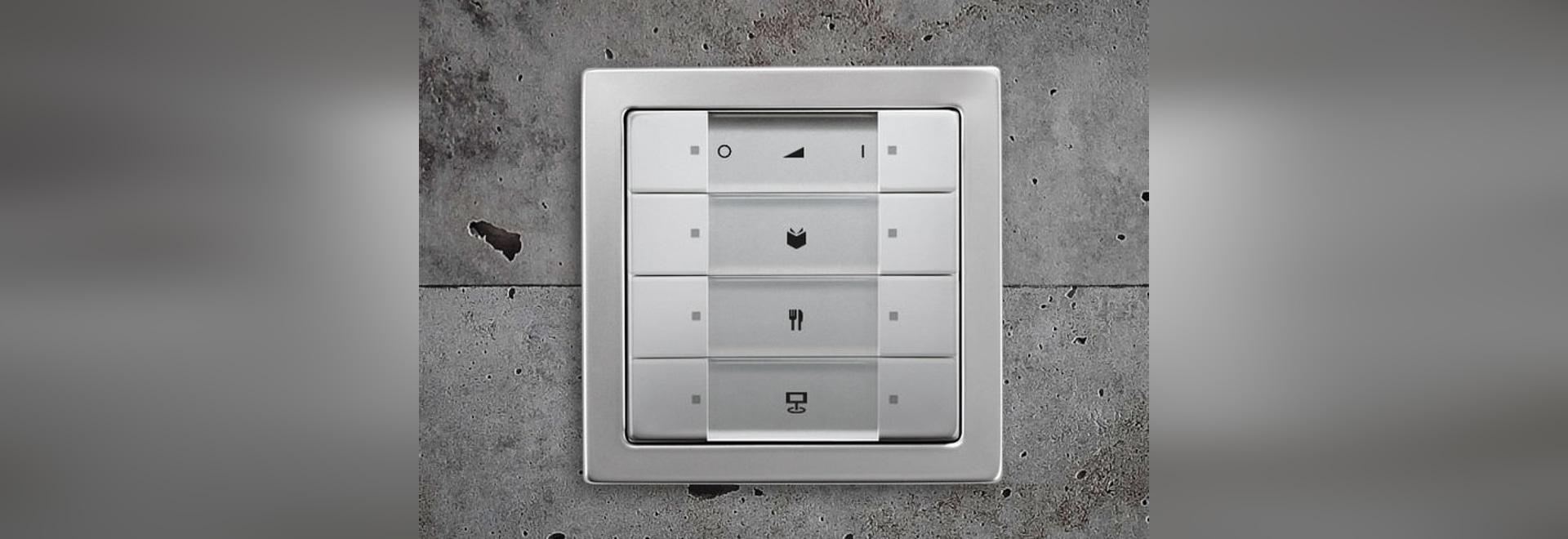 NEW: light dimmer switch by Busch-Jaeger Elektro - Busch-Jaeger Elektro