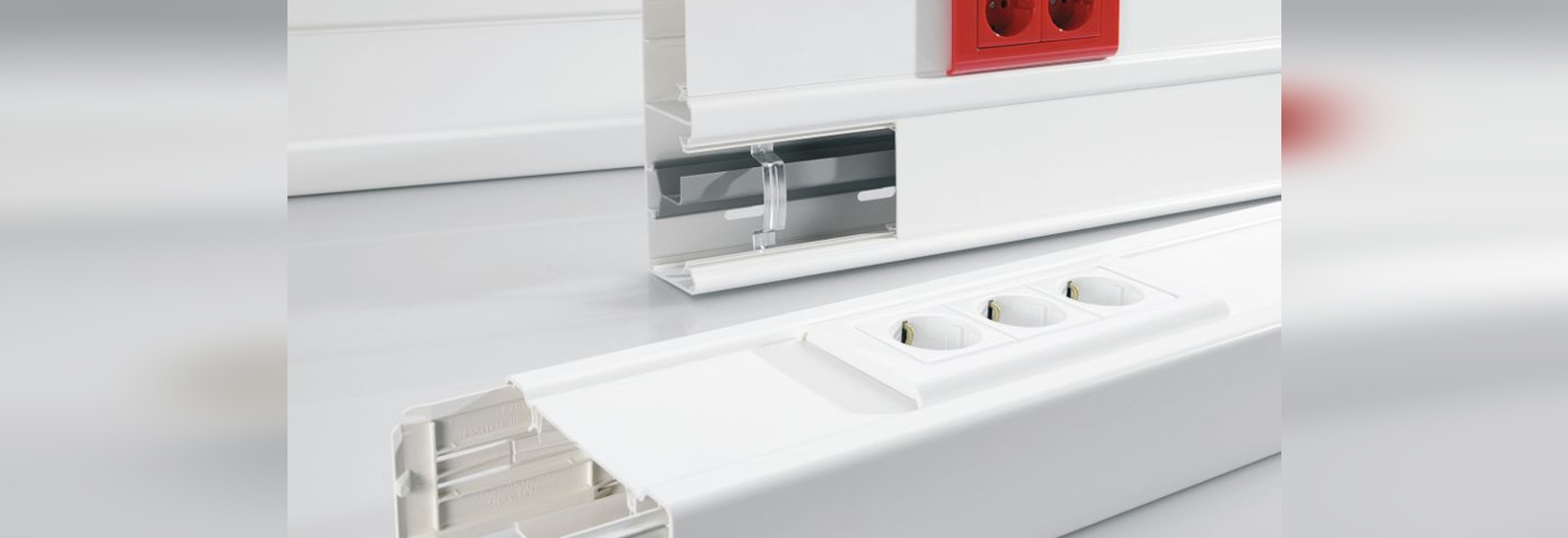 NEW: PVC cable trunking by Rehau