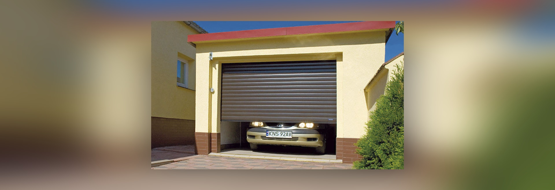new rollup garage door by wisniowski