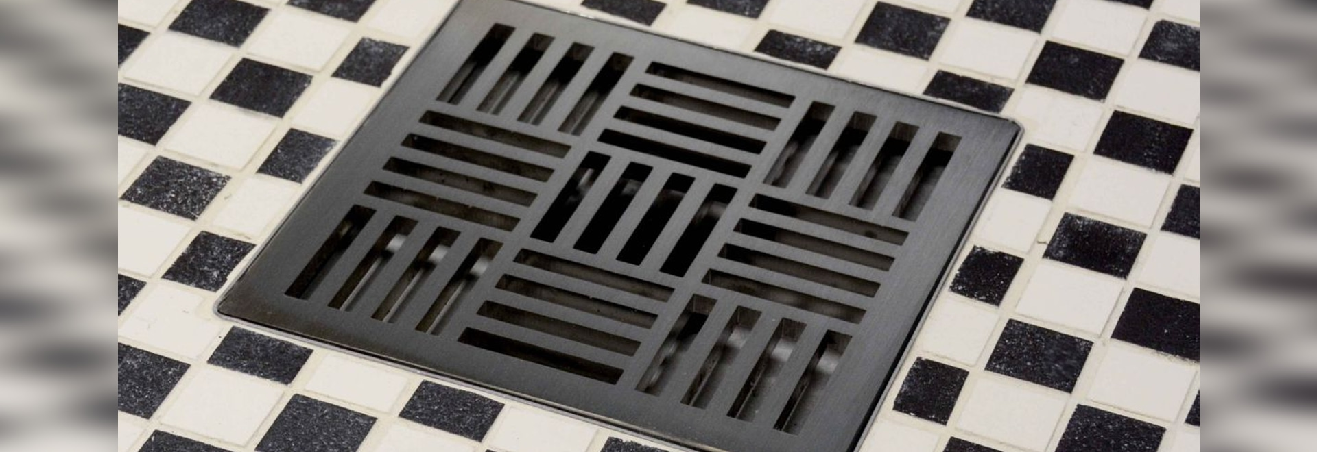 NEW: Shower Drain Box Grate By Infinity Drain