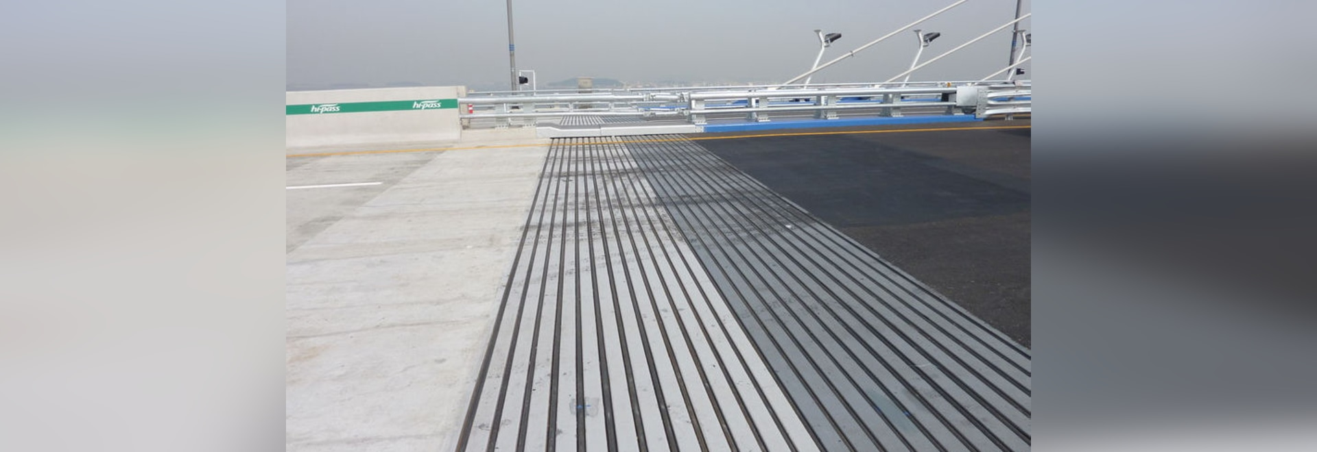 NEW: steel expansion joint by Mageba