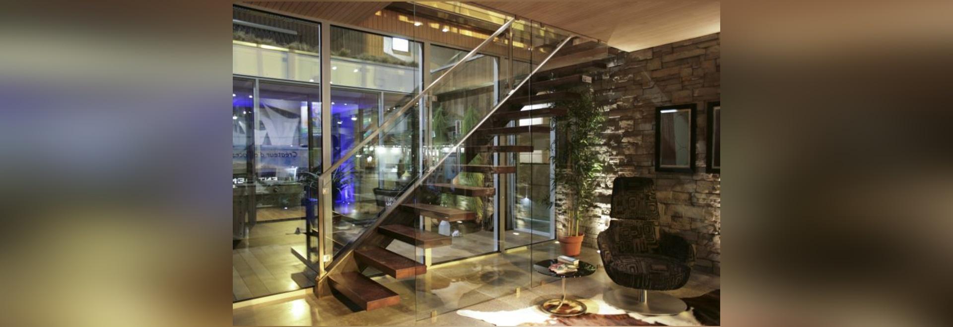 NEW: straight staircase by BATTIG DESIGN