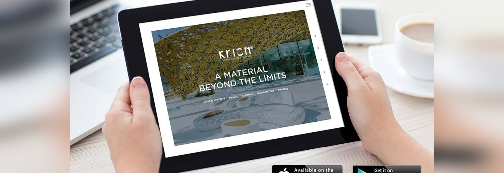New version of the KRION application for iPad (IOS) and Tablet (Android)