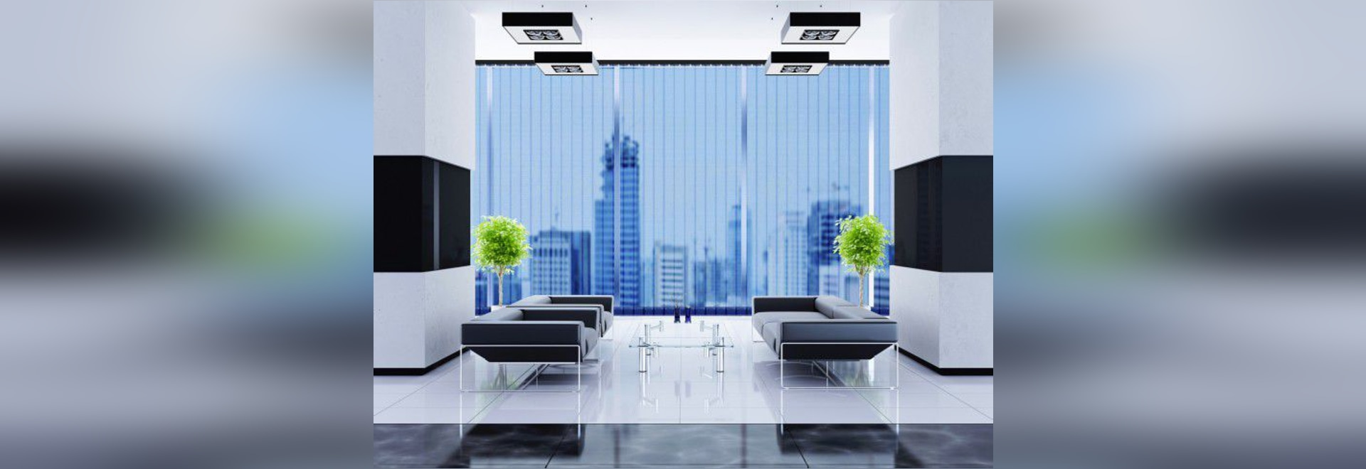 NEW: vertical blinds by SolarScreen International