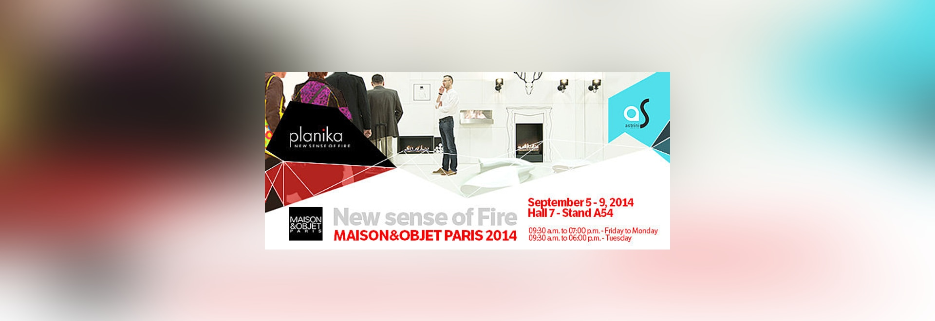New vision of fire during the Maison & Objet 2014 in Paris
