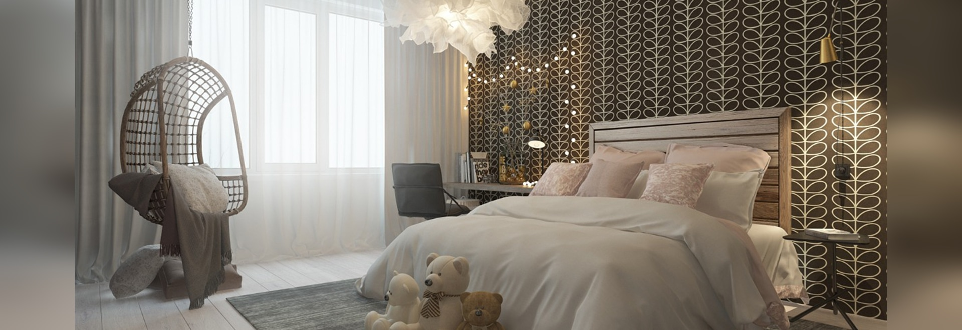 Sophisticated Bedroom A Pair Of Childrens Bedrooms With Sophisticated Themes Russia