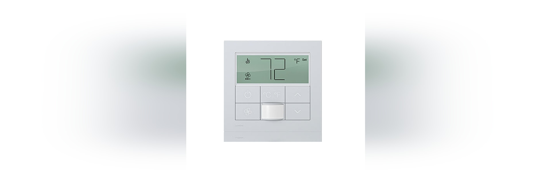 PALLADIOM QS digital thermostat by LUTRON ELECTRONICS - LUTRON ...