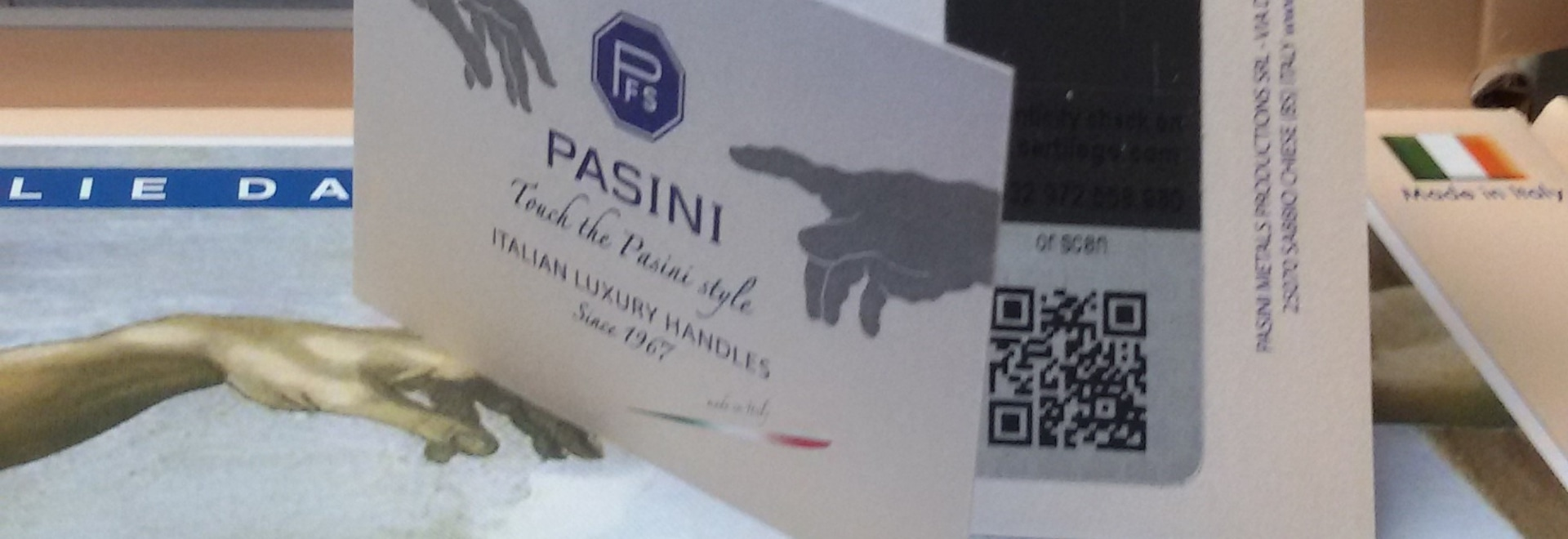 PFS PASINI Authenticity tag