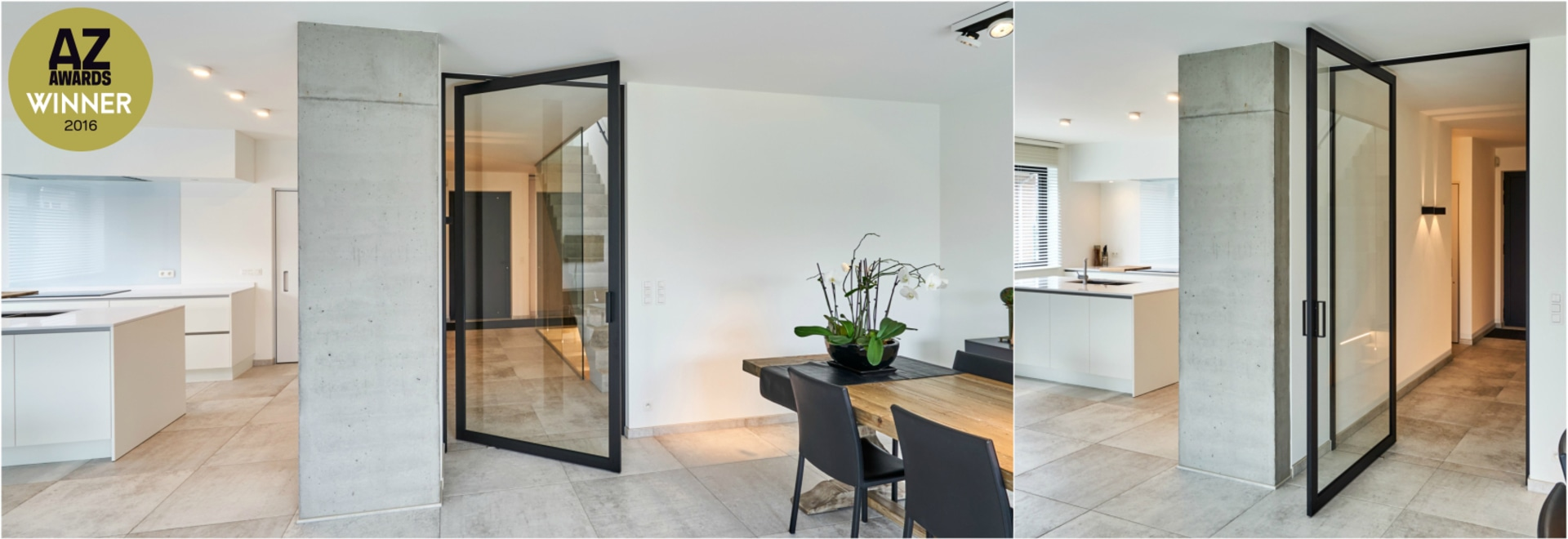 Pivoting room dividers