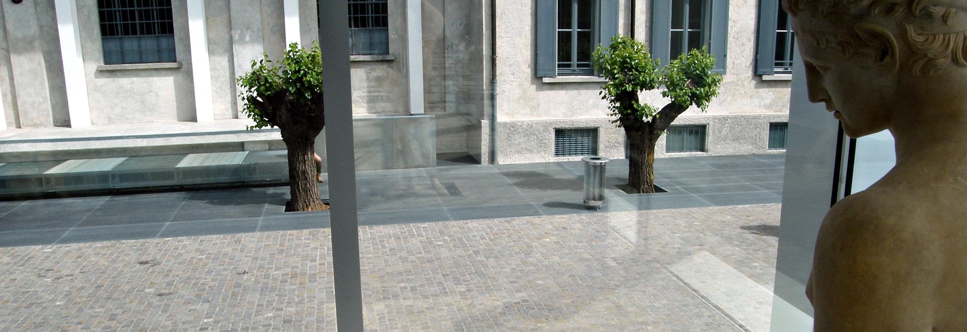 AT PRADA FOUNDATION IN MILAN, ALL WALK ON PORPHYRY FROM TRENTINO