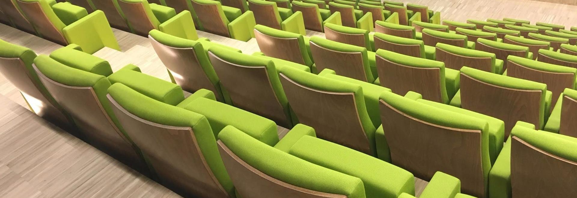 Quinette Gallay equips VEOLIA's auditorium
