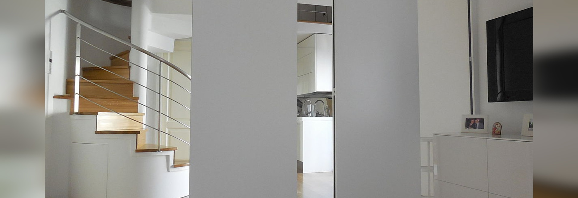 Residential movable partitions