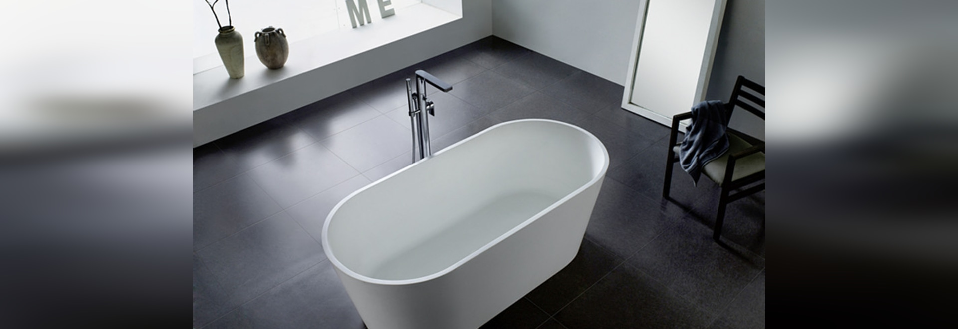 resin stone solid surface bathtub