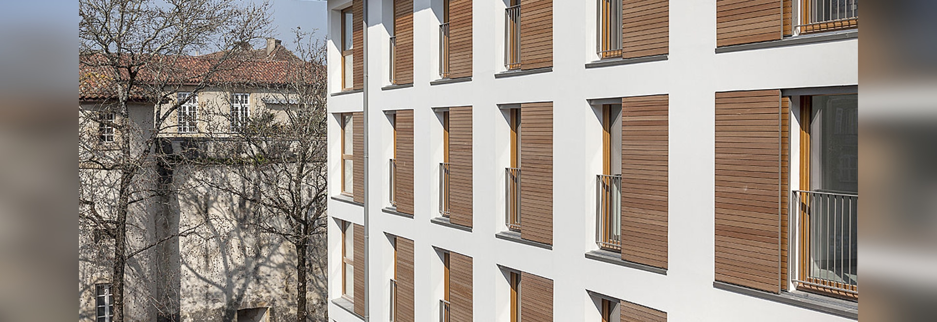A resolutely modern building in the heart of the historic city of Bayonne